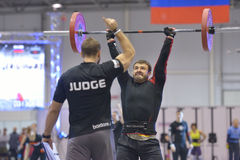 Crossfit competition Stock Photos