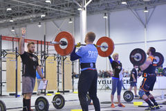 Crossfit competition Stock Images