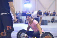 Crossfit competition Stock Photography