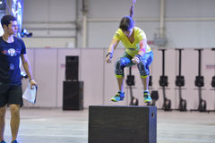 Crossfit competition Royalty Free Stock Photos