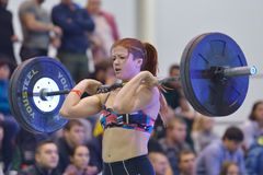 Crossfit competition Royalty Free Stock Photo