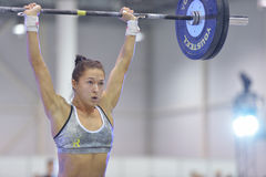 Crossfit competition Royalty Free Stock Photography