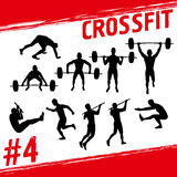 Crossfit concept Royalty Free Stock Images