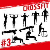 Crossfit concept Stock Image