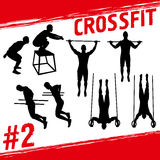 Crossfit concept Stock Photo