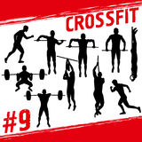 Crossfit concept Royalty Free Stock Photography