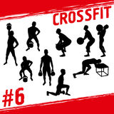 Crossfit concept Stock Photography