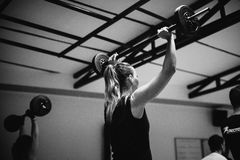 Crossfit group training Royalty Free Stock Images
