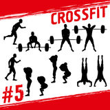 Crossfit-Konzept vektor abbildung