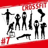Crossfit pojęcie ilustracji