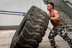 Crossfit training Stock Images