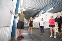 Crossfit trainingscursus Royalty-vrije Stock Afbeeldingen