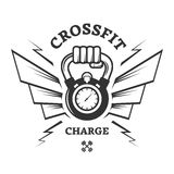 CrossFit workouts for a while Stock Image