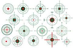 crosshair celu wektor Zdjęcie Stock