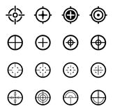 Crosshair Icons Royalty Free Stock Image