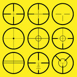 crosshair reticle Fotografia Royalty Free