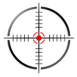 Crosshair, reticolo Immagine Stock