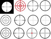 Crosshair Stock Image