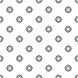 Crosshair, viewfinder pattern, simple style Royalty Free Stock Images