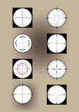 Crosshairs Immagine Stock