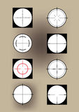 Crosshairs Stock Image