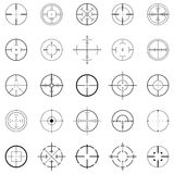 Crosshairs Immagine Stock
