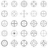 crosshairs Fotografering för Bildbyråer