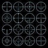Crosshairs ajustados Fotografia de Stock Royalty Free