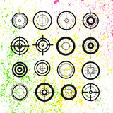 Crosshairs group. Aims . Royalty Free Stock Photos
