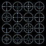 Crosshairs set Royalty Free Stock Photography