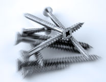 Crosshead screws Royalty Free Stock Images