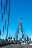 Crossing the Anzac Bridge, Sydney Stock Images