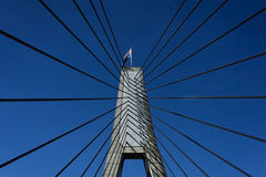 Crossing the Anzac Bridge, Sydney Royalty Free Stock Photography