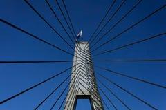 Crossing the Anzac Bridge, Sydney Royalty Free Stock Photography