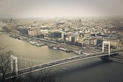 Crossing the bridge Royalty Free Stock Image