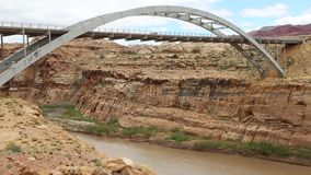 Crossing Colorado River stock video