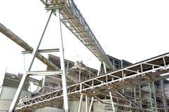 Crossing Conveyor belt Royalty Free Stock Image