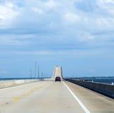 Crossing the Dauphin Island Bridge Royalty Free Stock Image