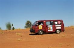 Crossing the desert, Mauritania Stock Photo