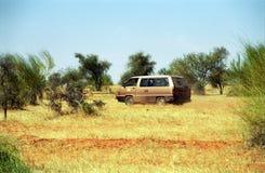 Crossing the desert, Mauritania Royalty Free Stock Photo