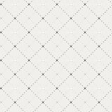 Crossing dot pattern. Including seamless sample in swatch panel Stock Photo