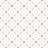 Crossing dot pattern. Including seamless sample in swatch panel Royalty Free Stock Photo