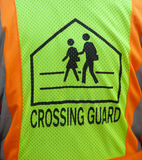 Crossing Guard Vest Symbol Stock Photography