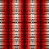 Crossing horizontal and vertical lines. Striped modern background. No gradient Stock Photography