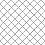 Crossing intersect sea ropes diagonal net seamless pattern. Stock Photo