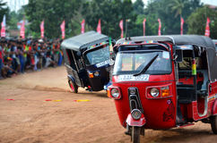 Tuk-tuk Race Royalty Free Stock Photo