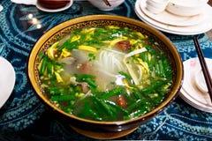 Crossing-over Bridge Rice Noodles, Kunming, Yunnan, China Royalty Free Stock Photo
