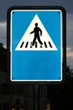 Crossing place Stock Images