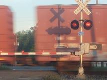 Crossing roadrail stock images