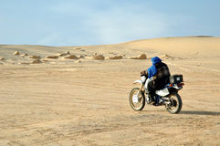 crossing sahara royaltyfria bilder